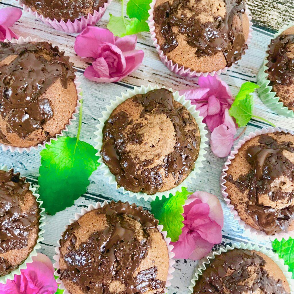 Saftiga chokladmuffins med skak av Oboy